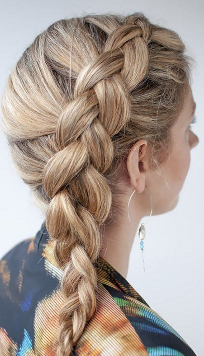 French Braids Hairstyles Step by Step -How to French Braid Your Own