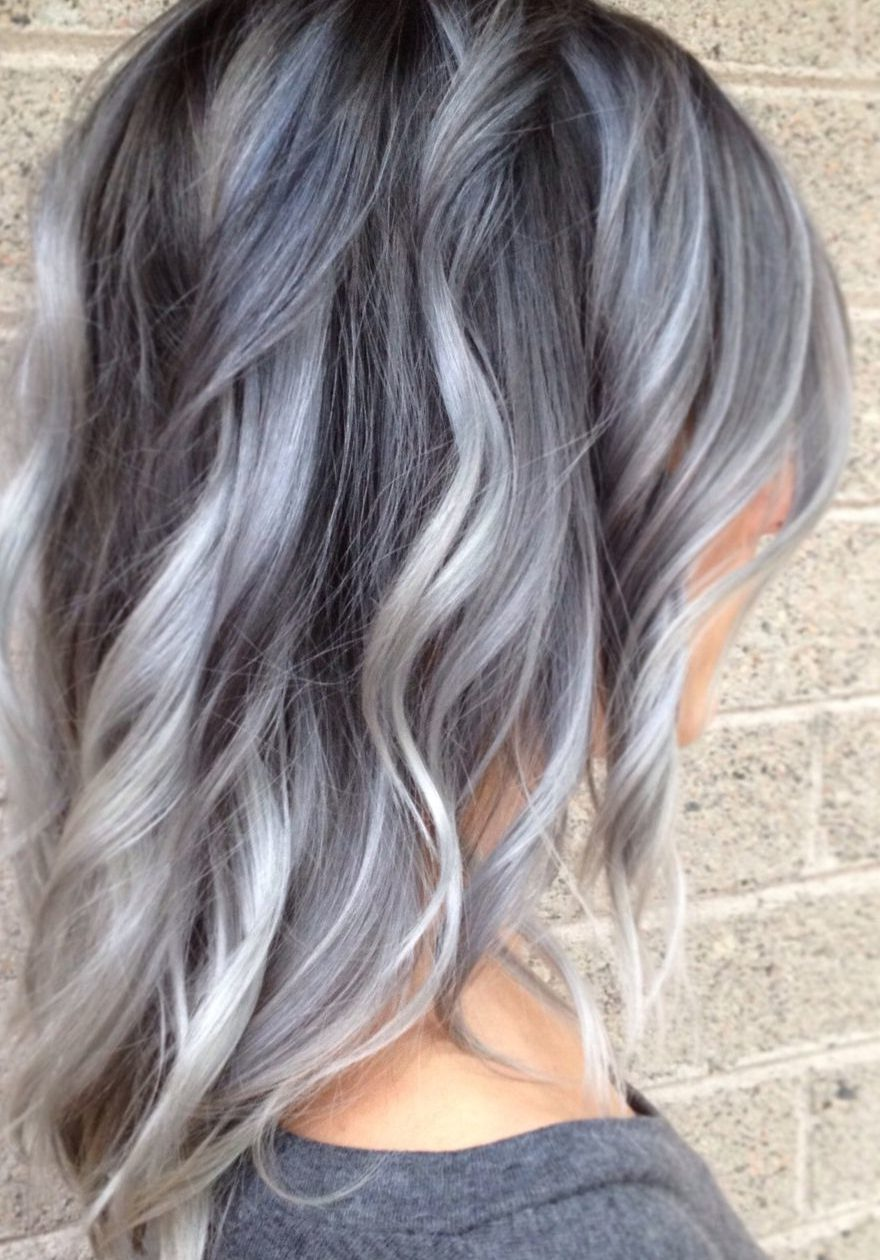36 Gray Silver Ombre Hair Color Ideas for Attention-Grabbing ...