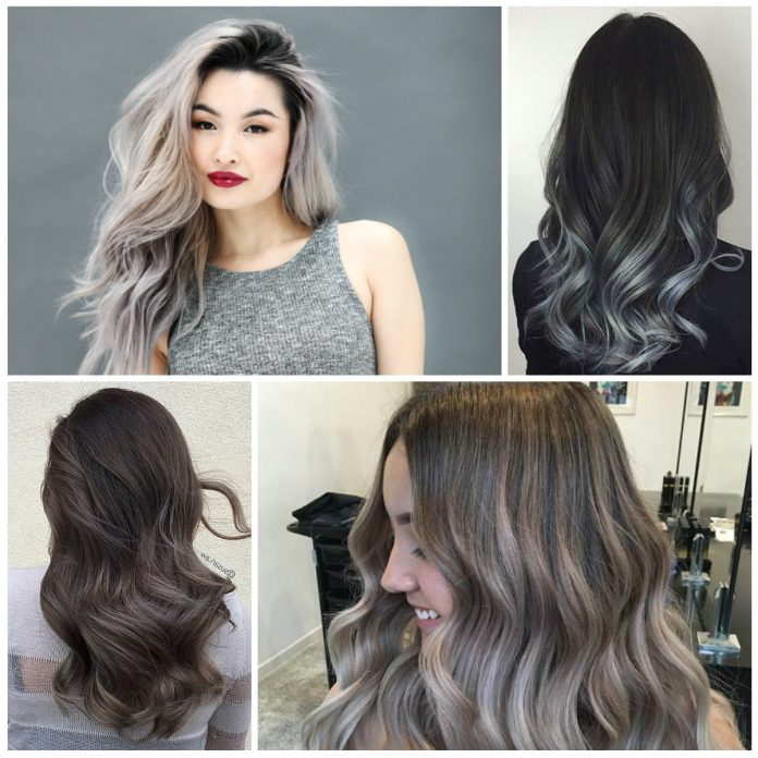 36 Gray Silver Ombre Hair Color Ideas for Attention-Grabbing Gals.