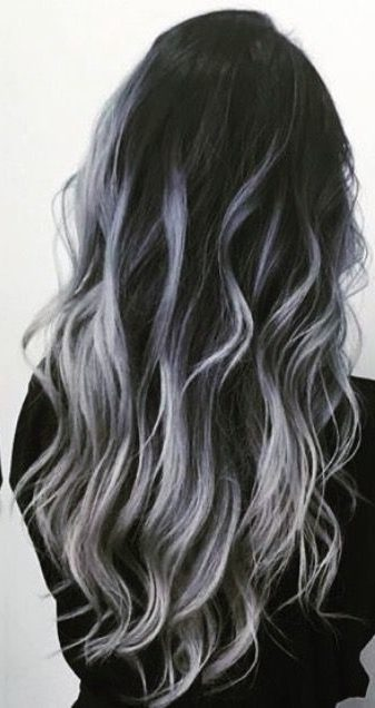 36 Gray Silver Ombre Hair Color Ideas For Attention Grabbing Gals Love Casual Style