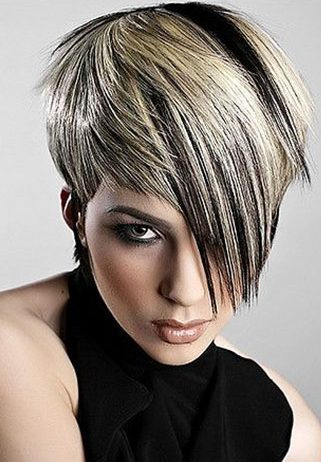 Hair Short Color Pixie