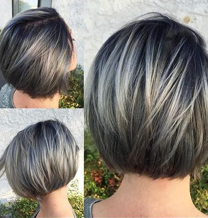 Short Hairstyles with Bangs - 15