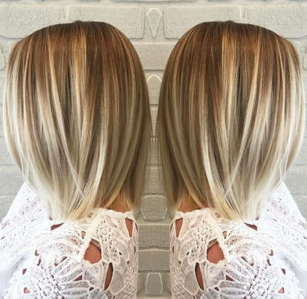 Balayage Short Hair - 16