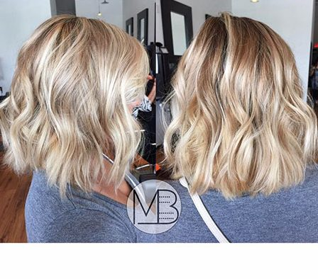 Balayage Short Hair - 19