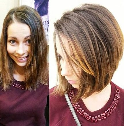 Short Hairstyles with Bangs - 19-