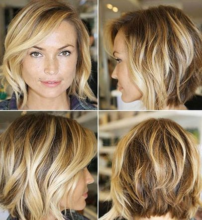 Short Hairstyles with Bangs - 22-