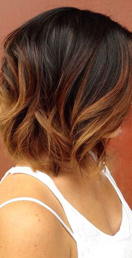 23 Balayage Ombre Hair Color Ideas for Short Hair - 2019 ...