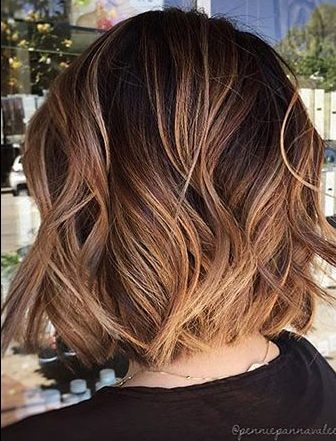Short Hairstyles with Bangs - 26-