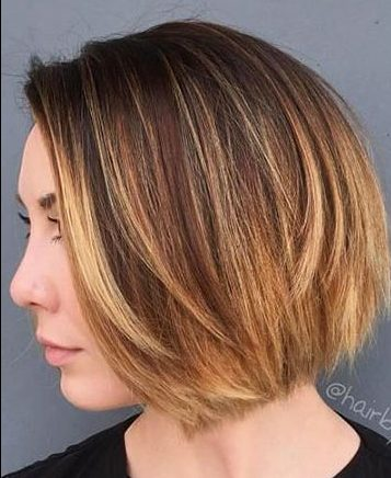 Short Hairstyles with Bangs - 29-
