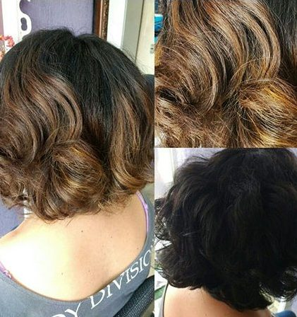 Short Hairstyles with Bangs - 33-