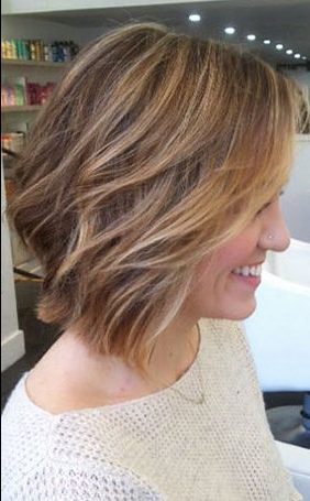 Short Hairstyles with Bangs - 9-